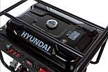 Генератор бензиновий Hyundai HY 12500LE, фото 6