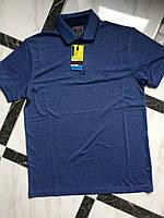 Мужская однотонная футболка поло фирмы Fibak.Производство Турция.Отличное качество