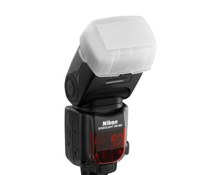 Рассеиватель на вспышку Nikon SB-900, фото 1