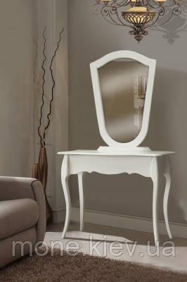 Туалетный стол Камелия в белом цвете
