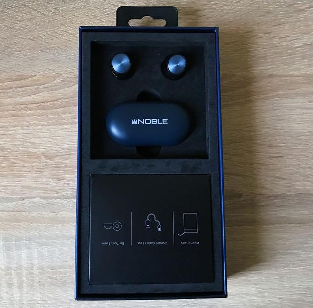 Беспроводные наушники Noble Audio Falcon топ TWS фото
