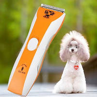 Аккумуляторная машинка триммер для стрижки животных собак и кошек Professional Pet Clipper BZ-806