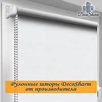 "Рулонная штора ""Oasis"" Блекаут Белый ТЕРМО 30.0 x 170 см"