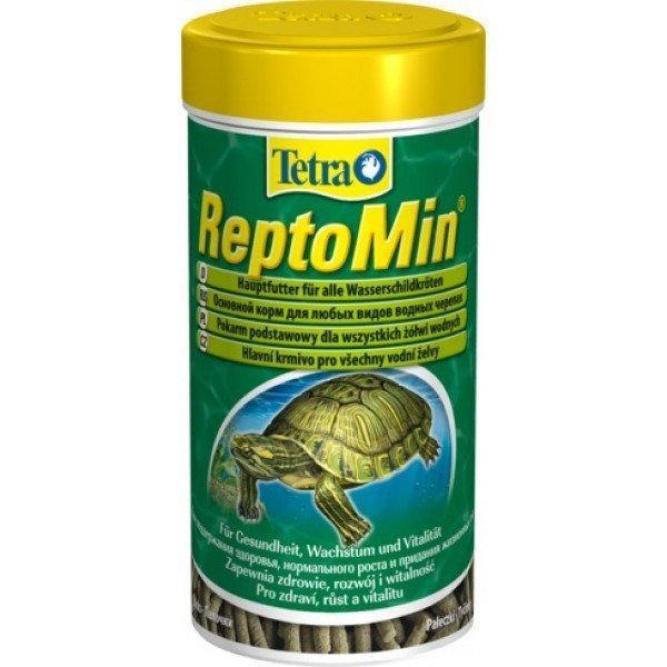 Сухой корм для водоплавающих черепах Tetra в палочках ReptoMin 250 мл