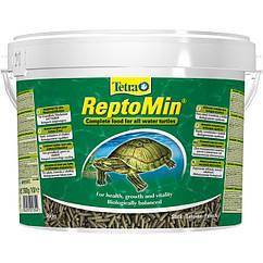 Сухой корм для водоплавающих черепах Tetra в палочках ReptoMin 10 л/2,5 кг (201354)