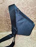 Барсетка ADIDAS слинг на грудь мессенджер Унисекс/Cумка спортивные для через плечо(ОПТ), фото 5