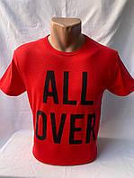 Футболка мужская фирмы KLAS 23 х/б ALL OVER 002 \ купить футболку мужскую оптом
