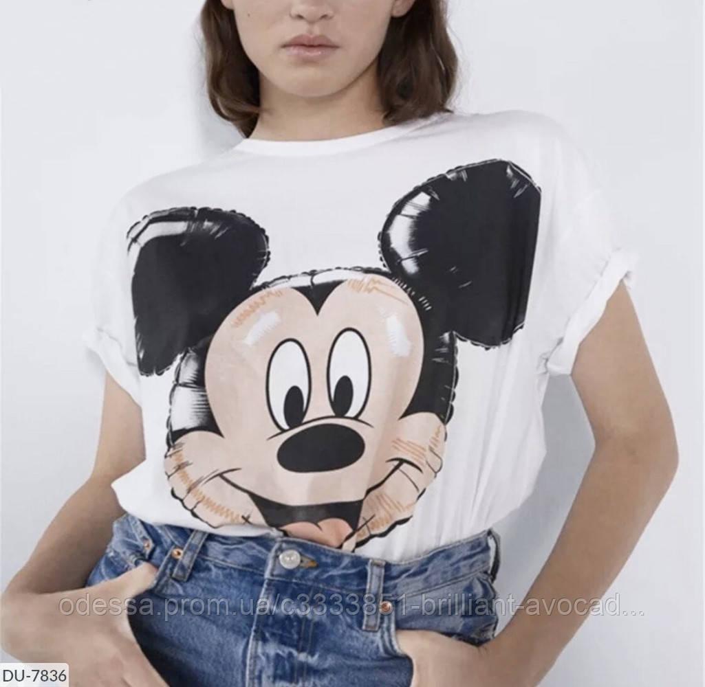 Классная футболка Микки Маус размеры от 42 до 48 !!!