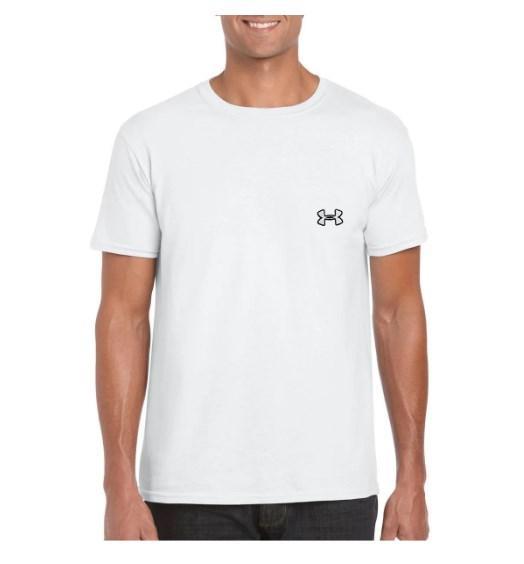 Футболка Андер Армор мужская хлопковая, спортивная летняя футболка Ander Armour, Турецкий хлопок, копия