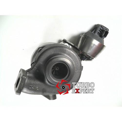 Турбина VolkswagenCrafter 2.5 TDI 109 HP, 49377-07535, 49377-07530, CEBB, 076145701G, 076145702C, 2006-2011