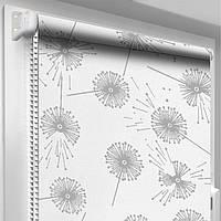 """Рулонная штора """"DecoSharm"""" Цветы 5428/1 30.0 x 170 см"""