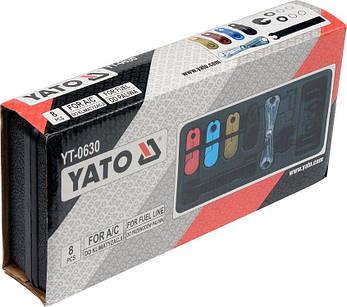 Набор зажимов для шлангов YATO YT-0630, фото 2