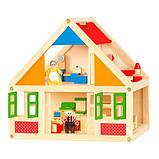 Деревянный игровой набор Viga Toys Кукольный домик (56254), фото 3