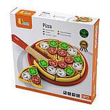 Игрушечные продукты Viga Toys Пицца из дерева (58500), фото 2