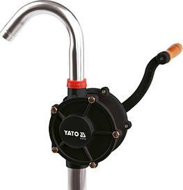 Роторный насос для перекачки масла из бочки YATO YT-07115