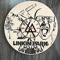 Концептуальные настенные часы 7Arts в интерьер Linkin Park CL-0333, КОД: 1474486