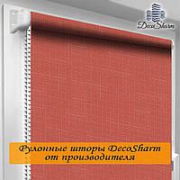 """Рулонная штора """"DecoSharm"""" Лён 860 30.0 x 170 см"""