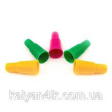 >Мундштук одноразовый пластиковый наружный цветной (гильза) 100 шт.