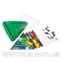 Набор для обучения Gigo Занимательная мозаика, треугольный (1162)