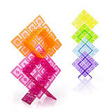Конструктор Guidecraft Interlox Squares Квадраты, 96 деталей (G16835), фото 3