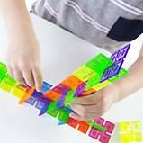 Конструктор Guidecraft Interlox Squares Квадраты, 96 деталей (G16835), фото 7