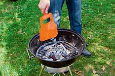 Пластиковое опахало   Веер для розжига мангала Fire Wood, фото 2