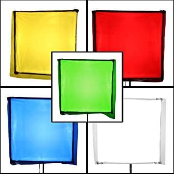 Софтбоксы с цветными светофильтрами