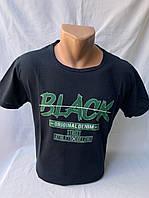 Футболка мужская фирмы ERKEK х/б евро размеры BLACK 002 \ купить футболку мужскую оптом