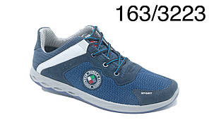 Кросівки Paolla 163  синя сітка