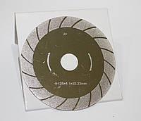 Алмазный круг TURBO на болгарку 125х1,1х22,23мм