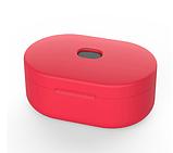 Чехол для наушников Xiaomi Redmi AirDots Цвет Красный TWS Bluetooth Silicone Case, фото 2