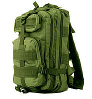 Рюкзак тактический 25 литров Oxford Олива (армейский военный туристический для рыбалки охоты)