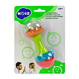 Погремушка Hola Toys Гантелька (939-3), фото 2