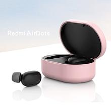Чохол для навушників Xiaomi Redmi AirDots Колір Рожевий TWS Bluetooth Silicone Case