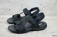 Мужские кожаные сандалии Antec (Реплика) (Код: С16 к  ) ►Размеры [40,41,42,43,44,45], фото 1