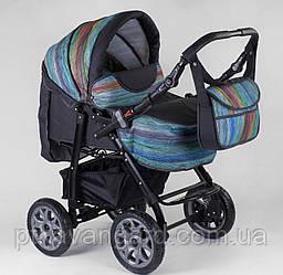 Коляска для новорожденных Viki (трансформер зима-лето) Абстракция 86- С 350