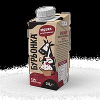 Сливки Буренка 33%, 200 грамм