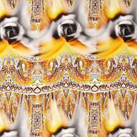 Шелк крепдешин цветной 2815/2013