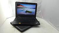 Надежный 4х Ядерный УльтраБук Lenovo ChromeBook 11e 4Gb 7 часов АКБ Кредит Гарантия Доставка, фото 1