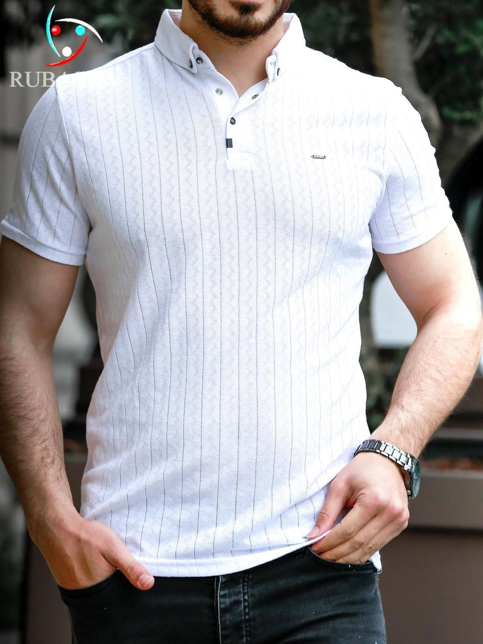 Футболка мужская Polo (Поло) Rubaska Турция