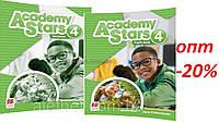 Английский язык / Academy Stars / Pupil's+Workbook. Учебник+Тетрадь (комплект), 4 / Macmillan