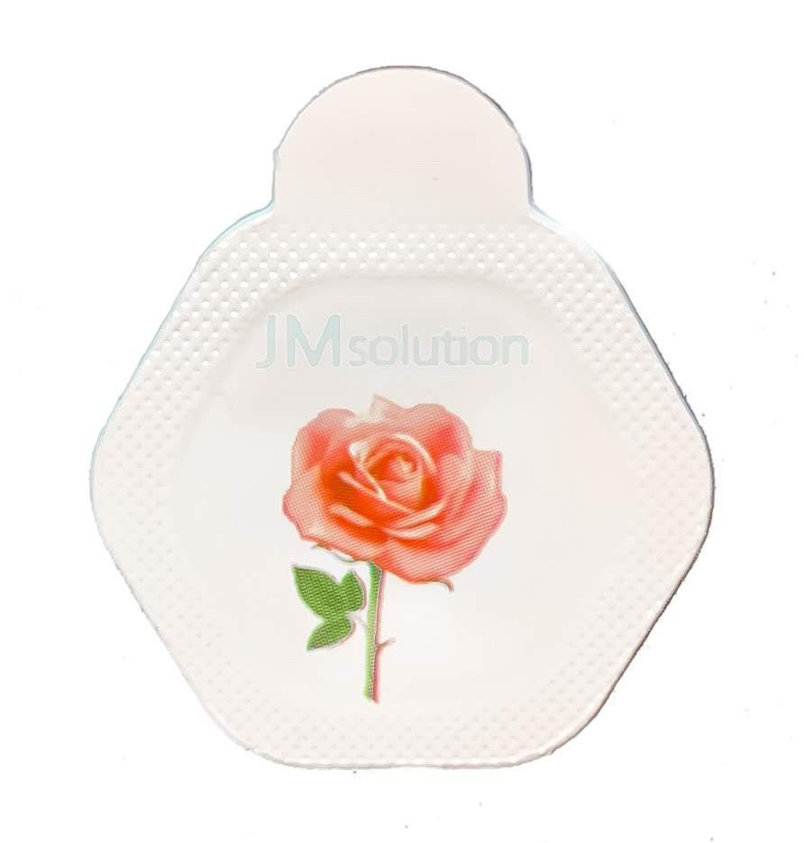 Ензимна пудра з трояндою JMSolution Glow Luminous Flower Firming Powder Cleanser Rose