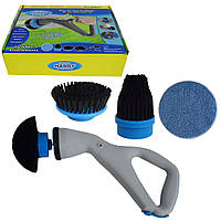 Электрическая беспроводная щетка для уборки HURRICANE Muscle Scrubber