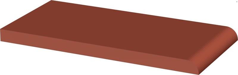 Подоконник клинкерный Paradyz Natural Rosa Parapetowa 30x14.8
