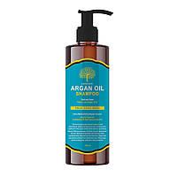 Профессиональный шампунь для сухих волос с аргановым маслом EVAS Char Char Argan Oil Shampoo, 500ml