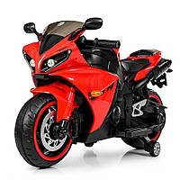 Детский мотоцикл Bambi Yamaha M 4069L-3 красный