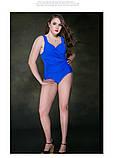 Відрядний купальник жіночий. Закритий купальник жіночий великих розмірів., фото 2