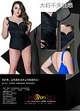Відрядний купальник жіночий. Закритий купальник жіночий великих розмірів., фото 8