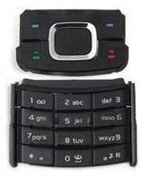 Клавиатура (кнопки) Nokia 6500sl Black