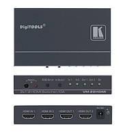 Kramer VM-22H (VM-22HDMI) коммутатор 2x1 и усилитель-распределитель 1:2 сигнала HDMI